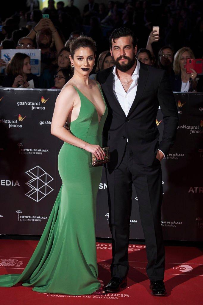 Blanca Suárez y Mario Casas en el Festival de Málaga 2017.  Fuente: Getty Images.