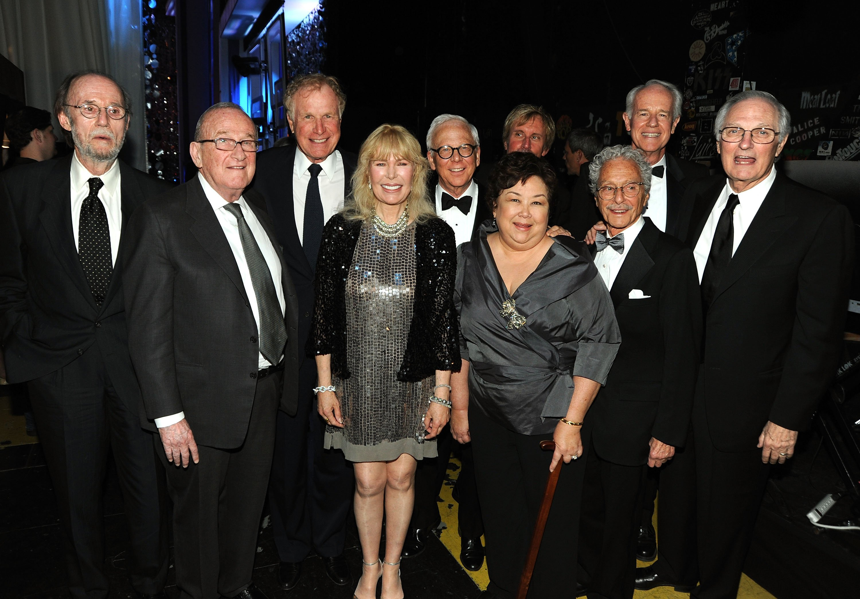 "The Cast and Crew of ""M*A*S*H"" at the 7th Annual TV Land Awards held at Gibson Amphitheatre on April 19, 2009. 