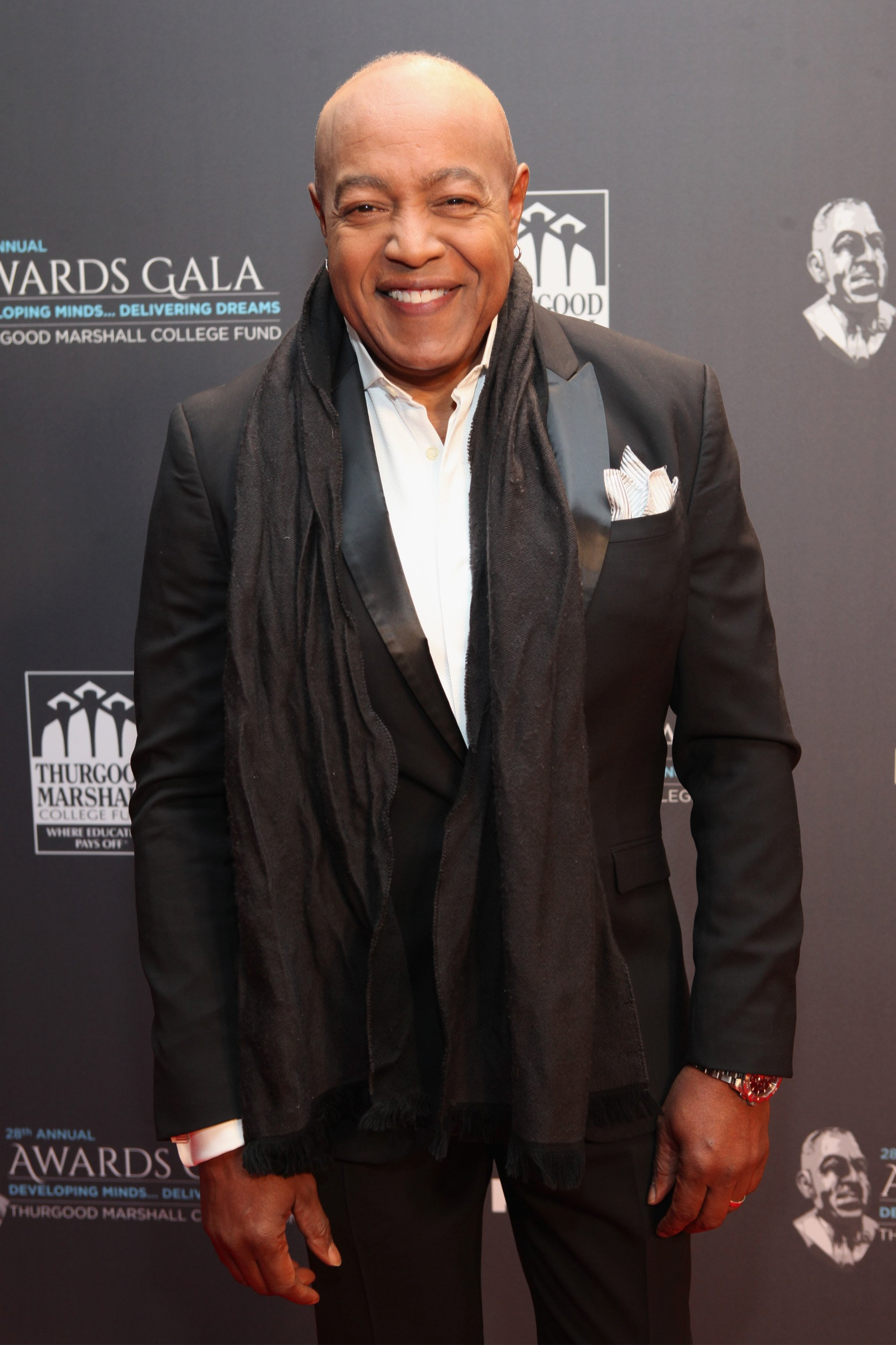 Peabo Bryson attending the Thurgood Marshall College Fund 28th Annual Awards Gala at Washington Hilton on November 21, 2016 in Washington, DC.   Source: Getty