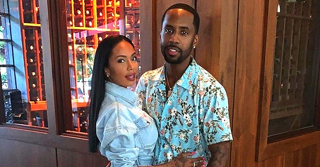 L&HH's Safaree & Daughter Safire Look like Twins in Cute Pic Showing Similar Facial Expressions