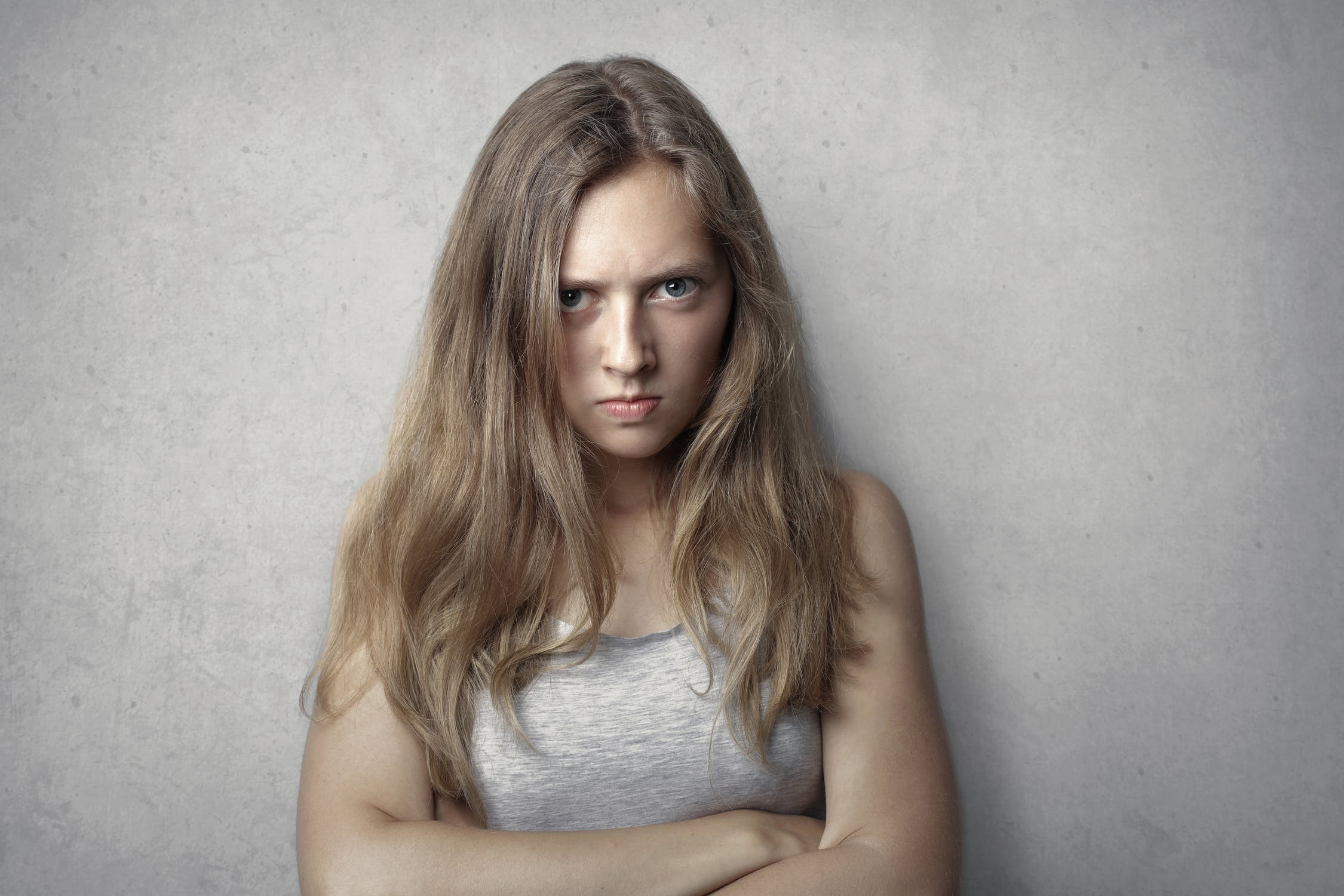 An angry daughter | Source: Pexels