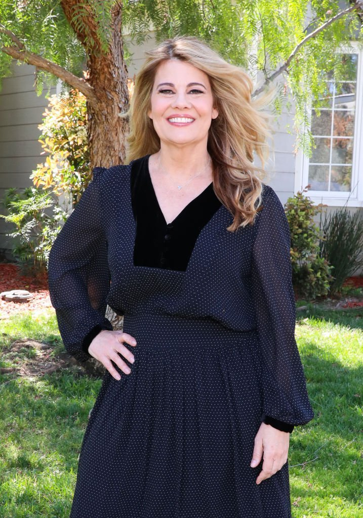 "Actress Lisa Whelchel visits Hallmark's ""Home & Family"" at Universal Studios Hollywood 