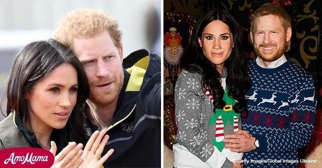 Meghan Markle and Prince Harry's wax masks are probably the worst look-alikes of celebs ever
