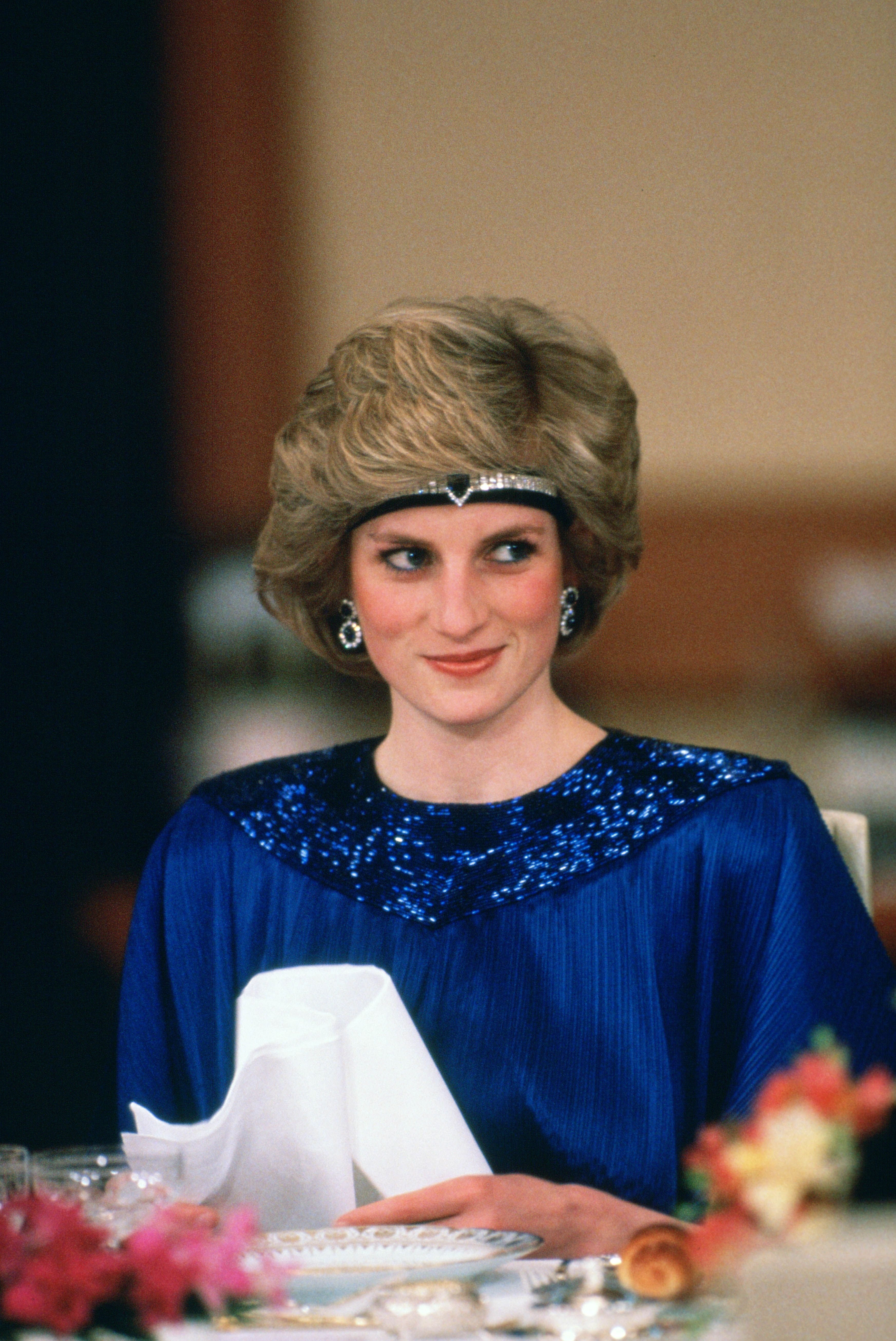 Princess Diana at a dinner hosted by Emperor Hirohito in Japan on May 12, 1986 | Photo:Tim Graham/Photo Library/Getty Images