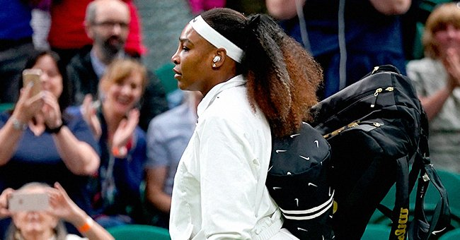 'Queen' Serena Williams Receives Support From Husband Alexis Ohanian & Fans After Leg Injury Results In Early Wimbledon Exit