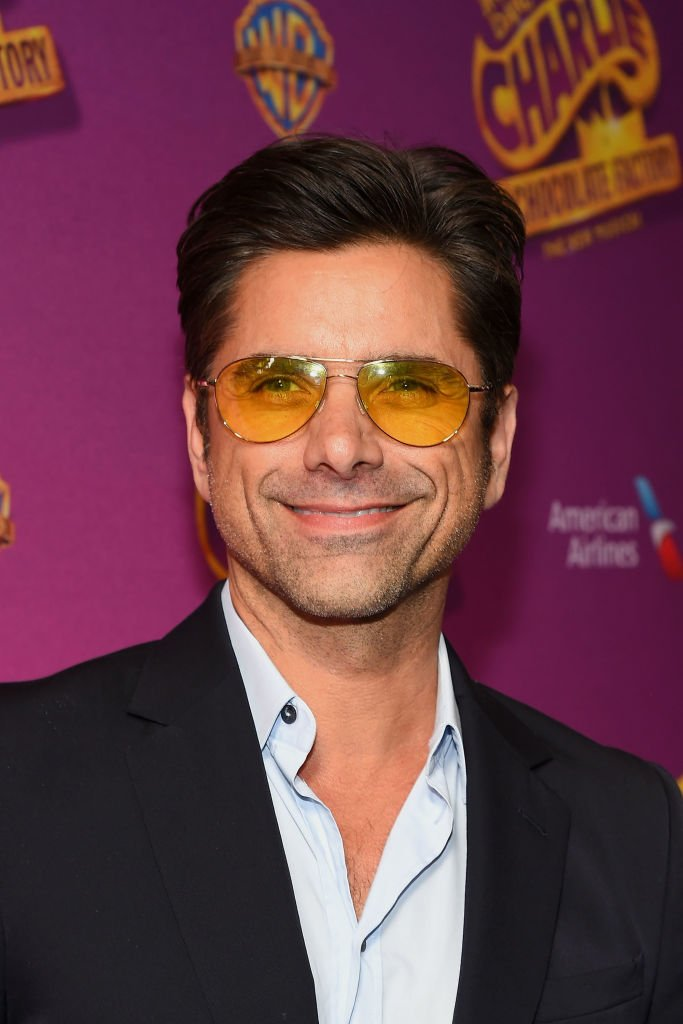 """John Stamos attends the """"Charlie And The Chocolate Factory"""" Broadway Opening Night at Lunt-Fontanne Theatre on April 23, 2017 in New York City 