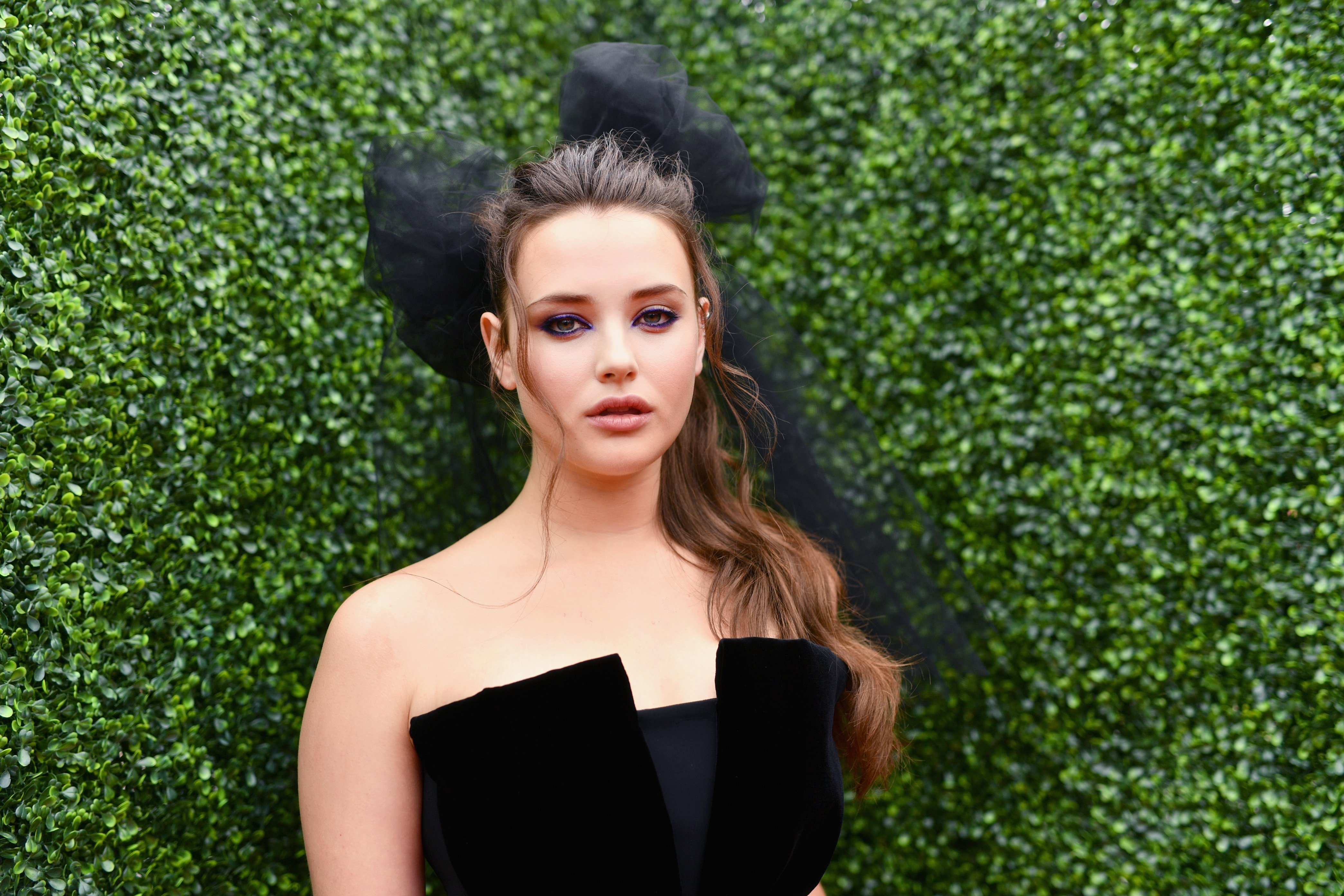 Katherine Langford at the 2018 MTV Movie And TV Awards at Barker Hangar on June 16, 2018 | Photo: GettyImages