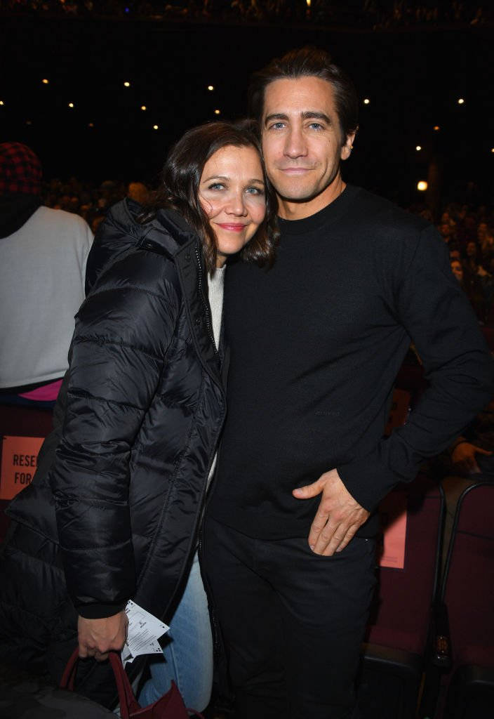 """Maggie Gyllenhaal and Jake Gyllenhaal attend the """"Wildlife"""" Premiere during the 2018 Sundance Film Festival 