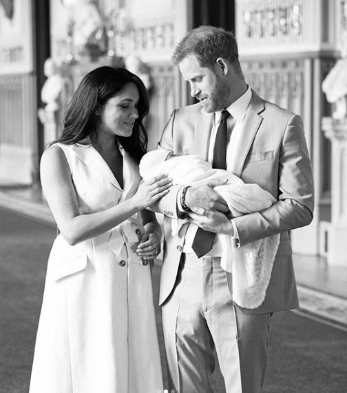 Duke and Duchess of Sussex/ Source: Instagram/sussexroyal