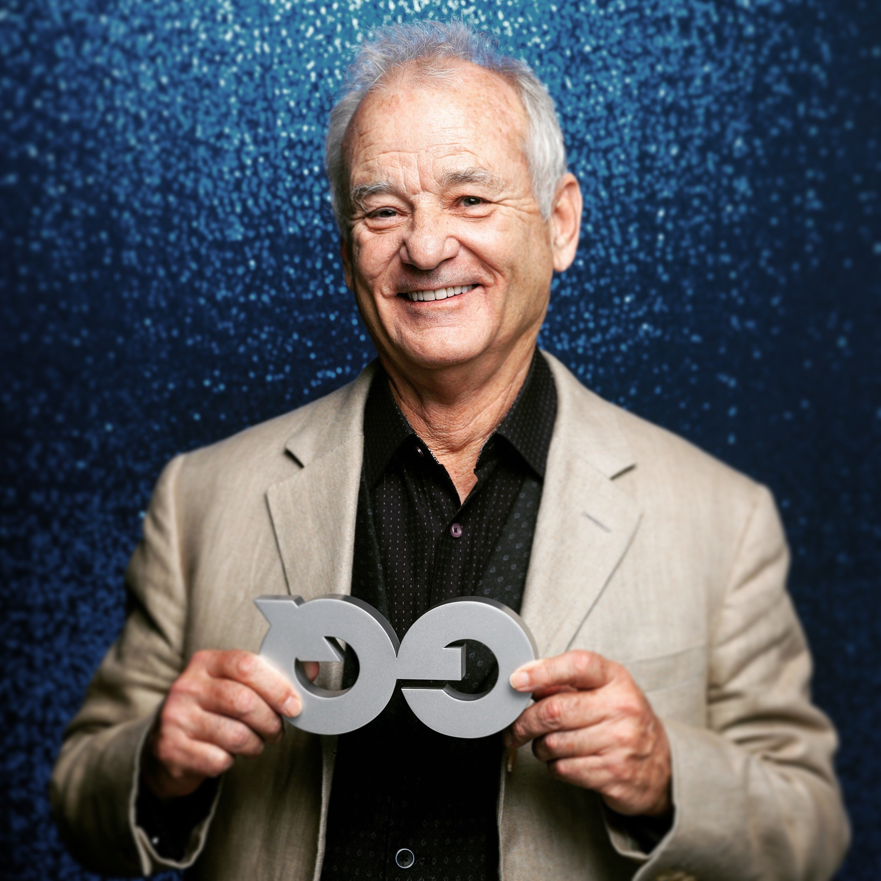 Bill Murray poses at the GQ Men of the Year Awards in Berlin, Germany on November 10, 2016   Photo: Getty Images