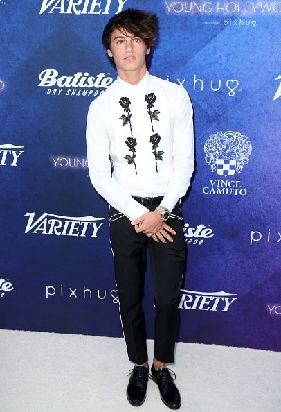 Dylan Jagger Lee attends Variety's Power of Young Hollywood at NeueHouse Hollywood on August 16, 2016, in Los Angeles, California. | Source: Getty Images.