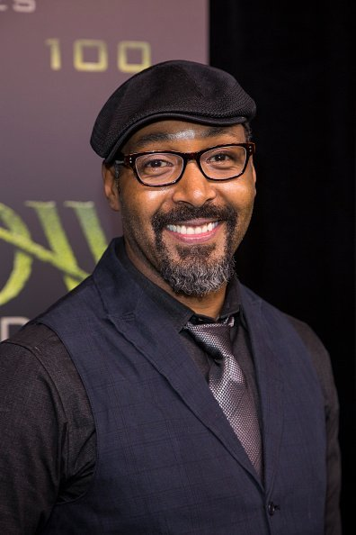 "Jesse L. Martin arrives on the green carpet for the celebration of the 100th Episode of CW's ""Arrow"" at the Fairmont Pacific Rim Hotel on October 22, 2016 