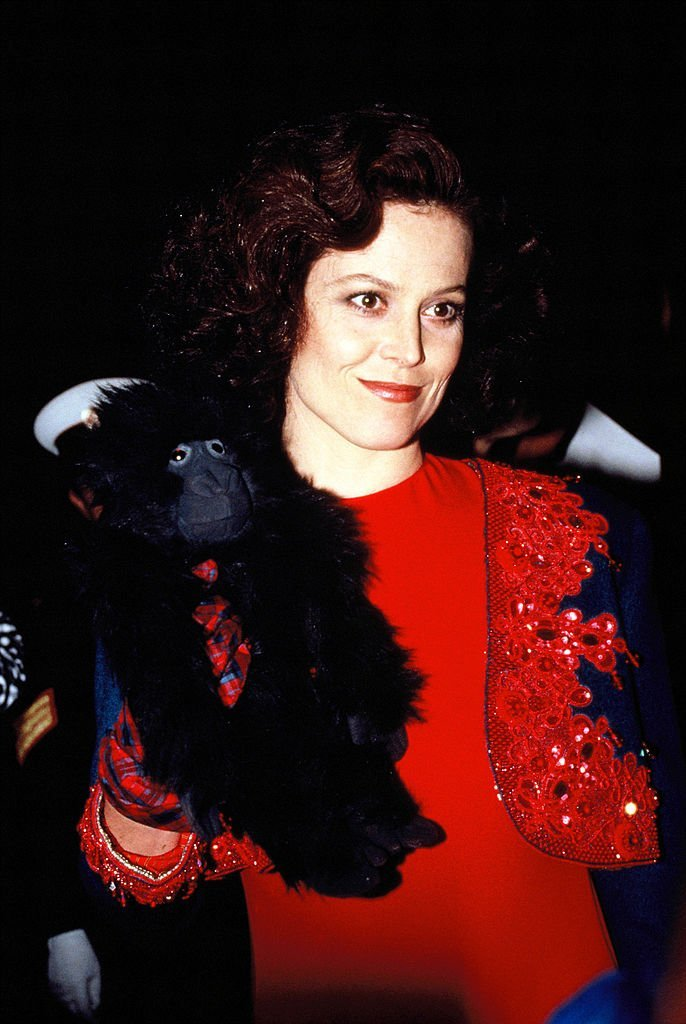 Actress Sigourney Weaver attends the 'Gorillas in the Mist' premiere | Getty Images