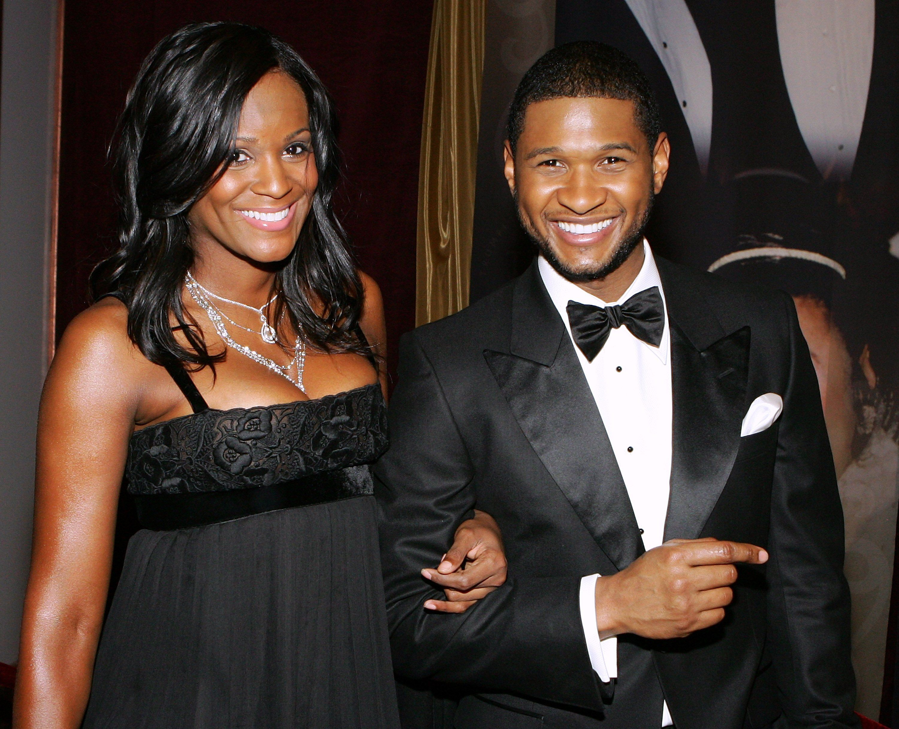 Usher Raymond and Tameka Foster at the 15th annual Trumpet Awards in Las Vegas in 2007 | Source: Getty Images