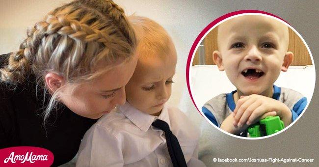 Ein Fünfjähriger mit Krebs verstarb in den Armen seiner Mutter, nachdem er seinen letzten Wunsch erfüllt hatte