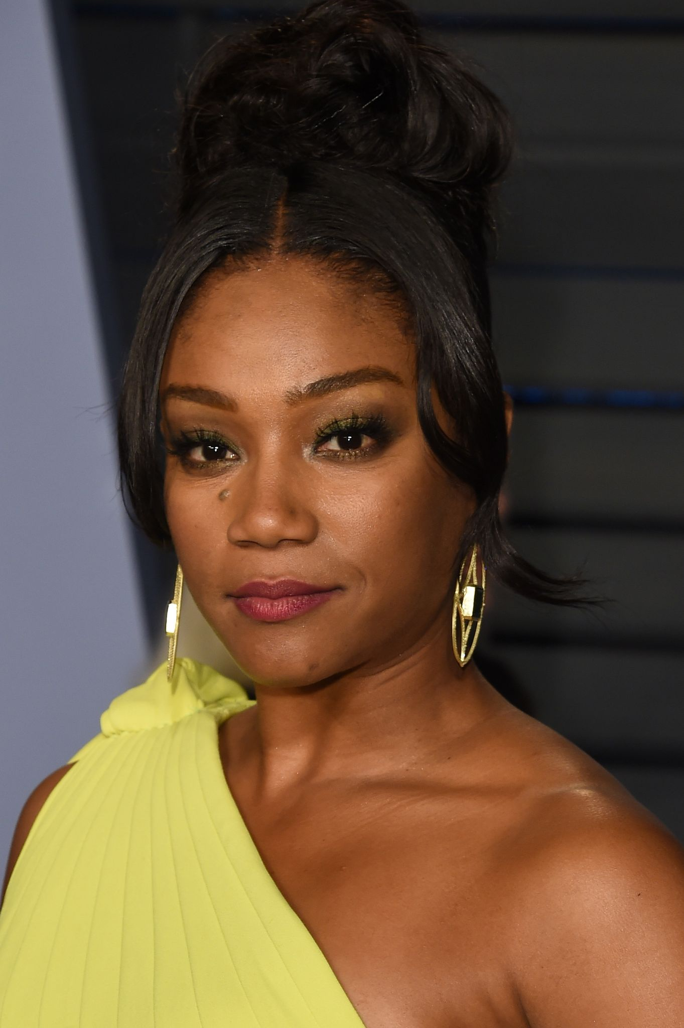Tiffany Haddish attends the 2018 Vanity Fair Oscar Party hosted by Radhika Jones at the Wallis Annenberg Center for the Performing Arts on March 4, 2018   Photo: Getty Images