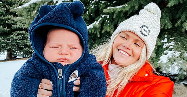 DWTS Pro Witney Carson Admits She Had COVID-19 in January When Her Son Leo Was Born