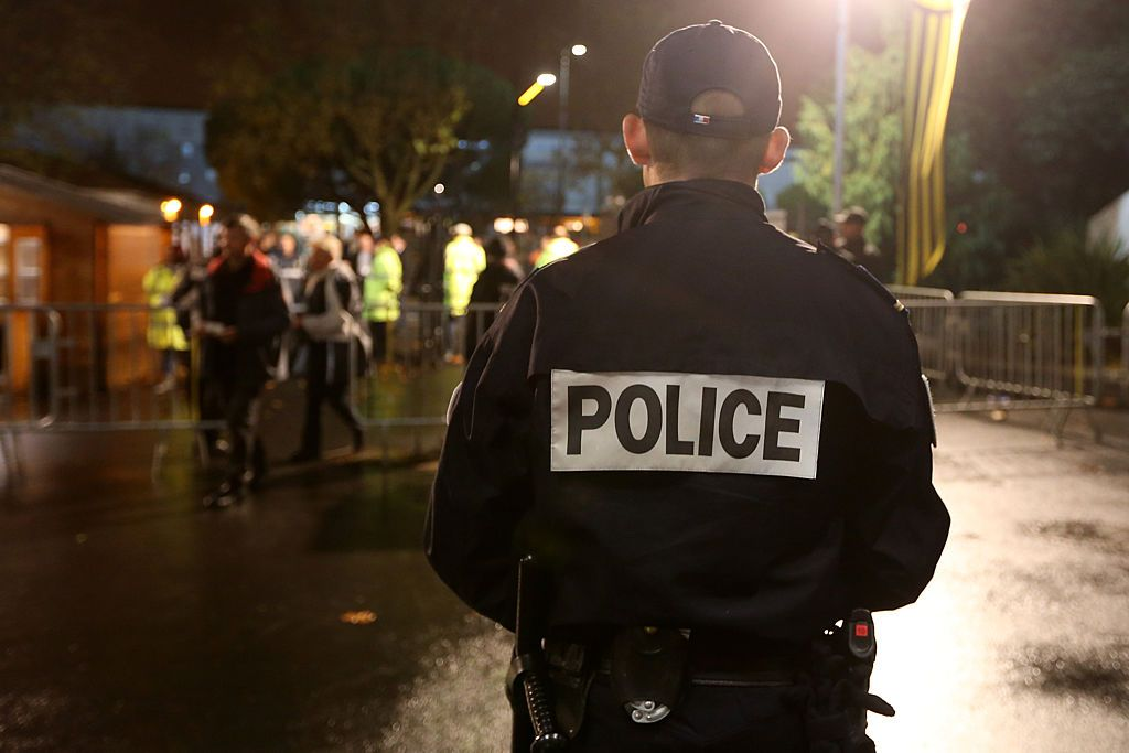 A policeman at the European Rugby Challenge Cup match between La Rochelle and Gloucester at Stade Marcel Deflandre on November 19, 2015 in La Rochelle, France.   Source: Getty Images