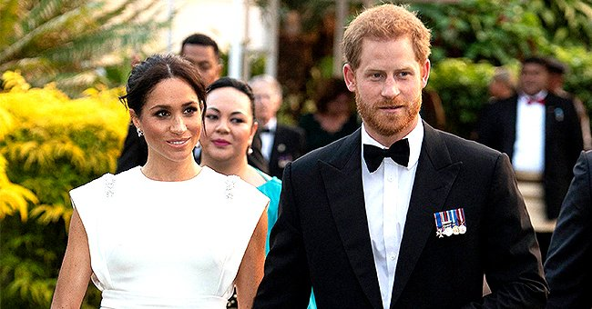 Meghan Markle and Prince Harry Prepared Meals for Charity Wearing Masks and Gloves