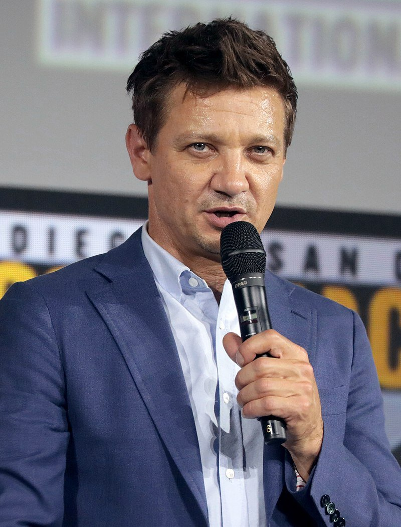 Jeremy Renner at the 2019 San Diego Comic-Con | Source: Wikimedia