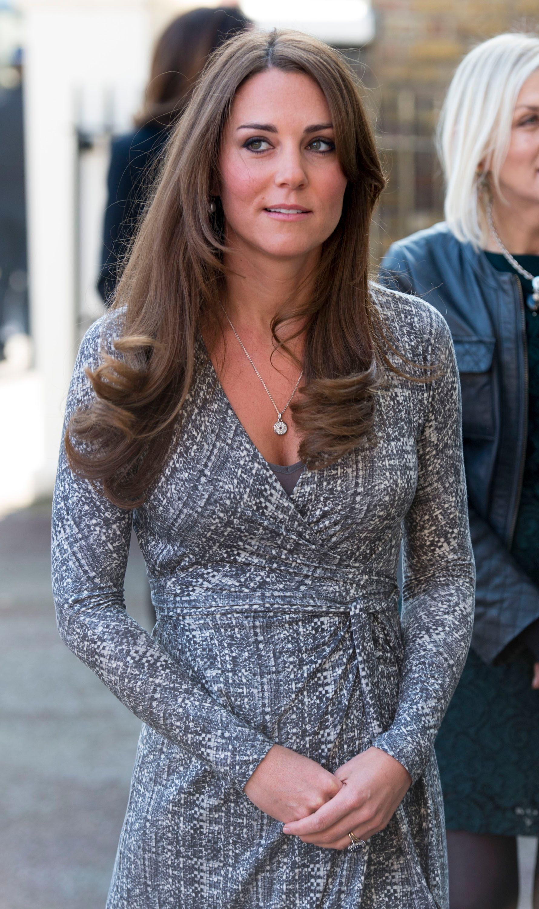 Duchess Kate visits Hope House, an Action on Addiction women's treatment center on February 19, 2013, in London, England | Photo: Mark Cuthbert/UK Press/Getty Images