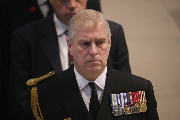 rince Andrew, Duke of York, attends a commemoration service at Manchester Cathedral | Photo; Getty Images