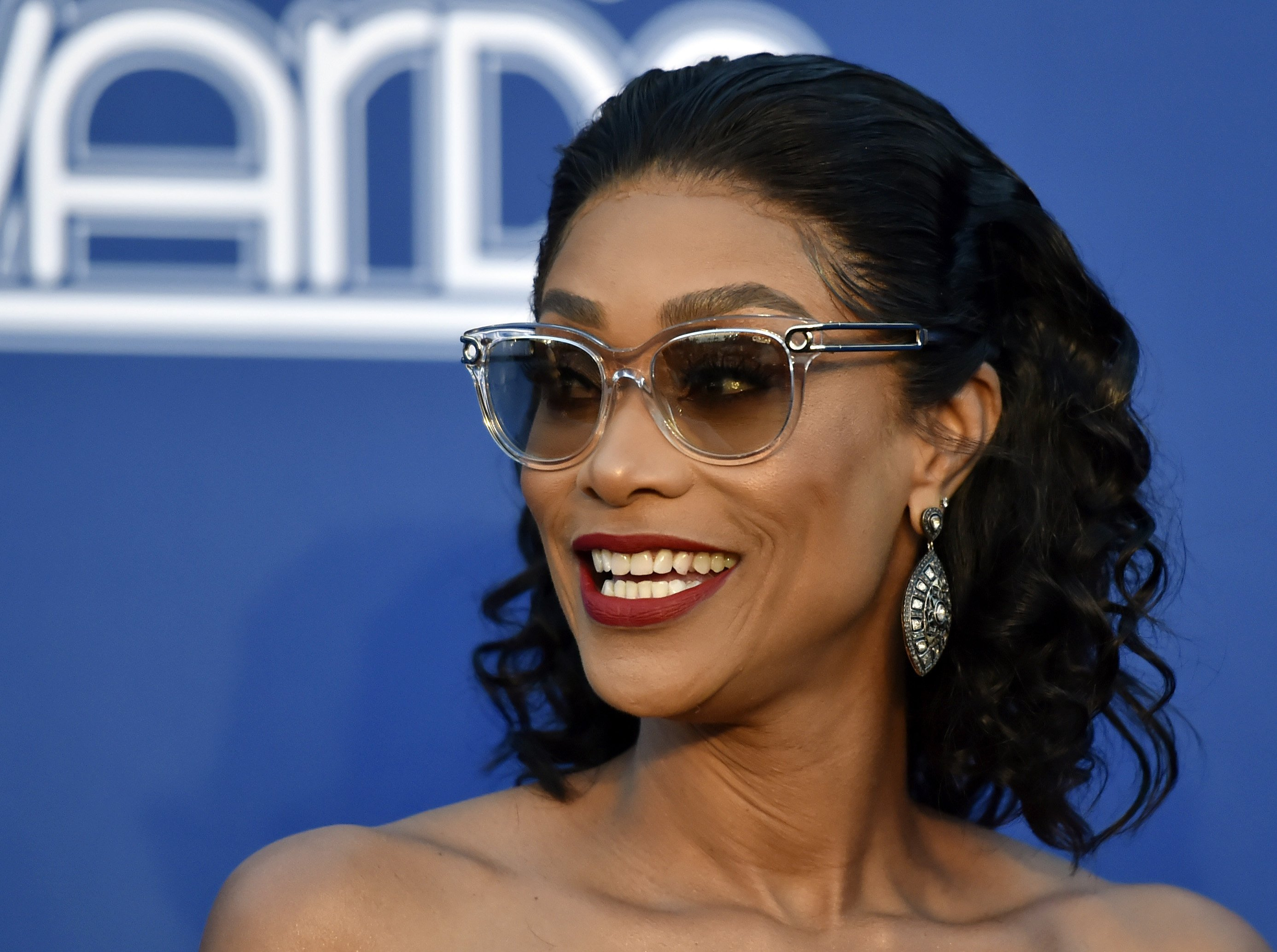 Tami Roman at the Soul Train Awards on Nov. 17, 2018 in Las Vegas, Nevada | Photo: Getty Images