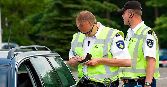 Daily Joke: Man Goes over the Speed Limit While Driving One Night