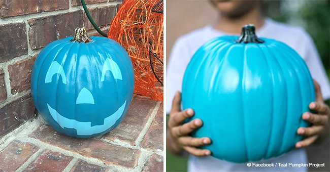Here's why you may be seeing a lot of teal pumpkins this Halloween