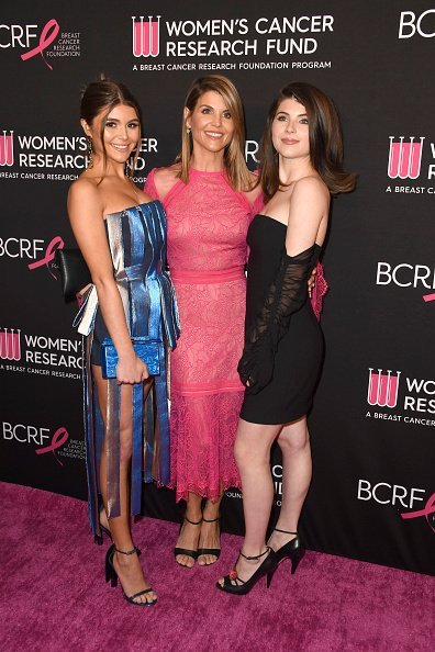 Olivia Jade Giannulli, Lori Loughlin and Isabella Rose Giannulli attend The Women's Cancer Research Fund's Gala at the Beverly Wilshire Four Seasons Hotel on February 28, 2019, in Beverly Hills, California. | Source: Getty Images.