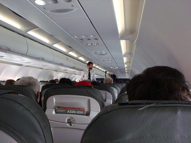 Flugzeug-Kabine | Quelle: Pixabay