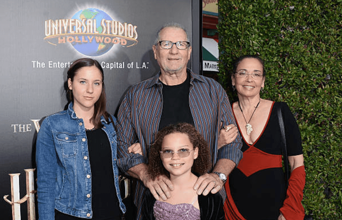 """Claire O'Neill, Ed O'Neill, Sophia O'Neill andCatherine Rusoff attend """"Wizarding World of Harry Potter Opening"""" at Universal Studios Hollywood, on April 5, 2016, in Universal City, California 
