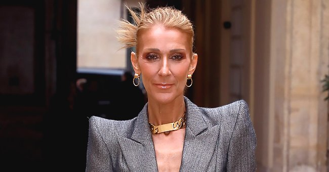 Celine Dion Flaunts Slim Figure in Extravagant Dress in Behind-The-Scene Video & Fans Are Excited