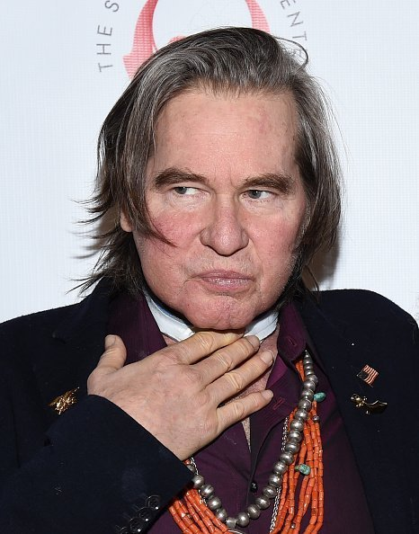 """Val Kilmer attends the Simply Shakespeare's Live Read of """"The Merchant Of Venice"""" at Walt Disney Concert Hall in Los Angeles, California 