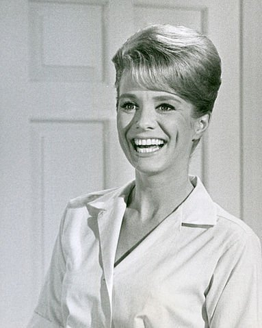 """Inger Stevens from the premiere of the television program """"The Farmer's Daughter"""" in 1963. 