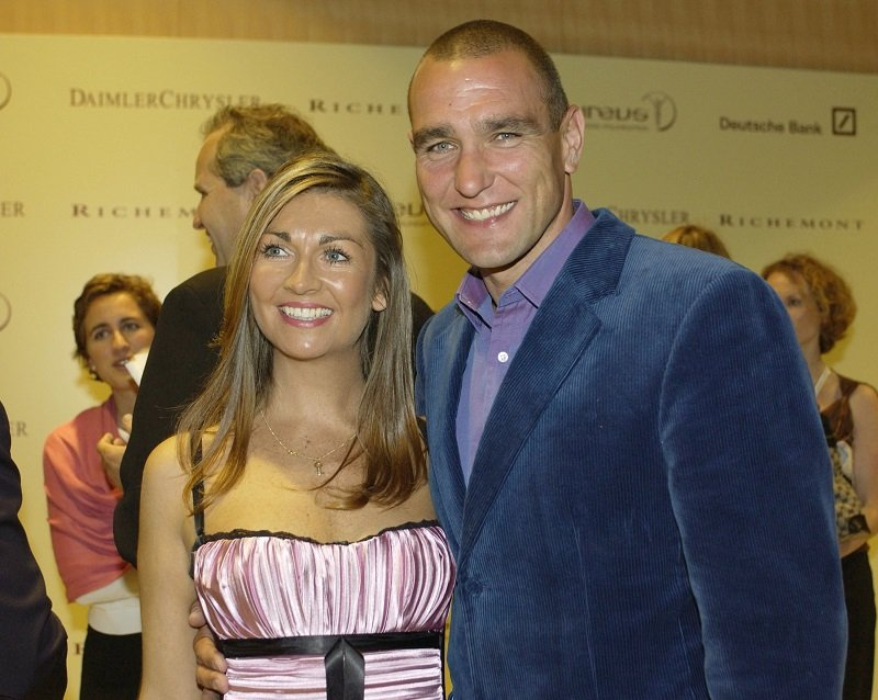 Vinnie Jones and his wife Tanya on May 19, 2003 in Monaco   Photo: Getty Images