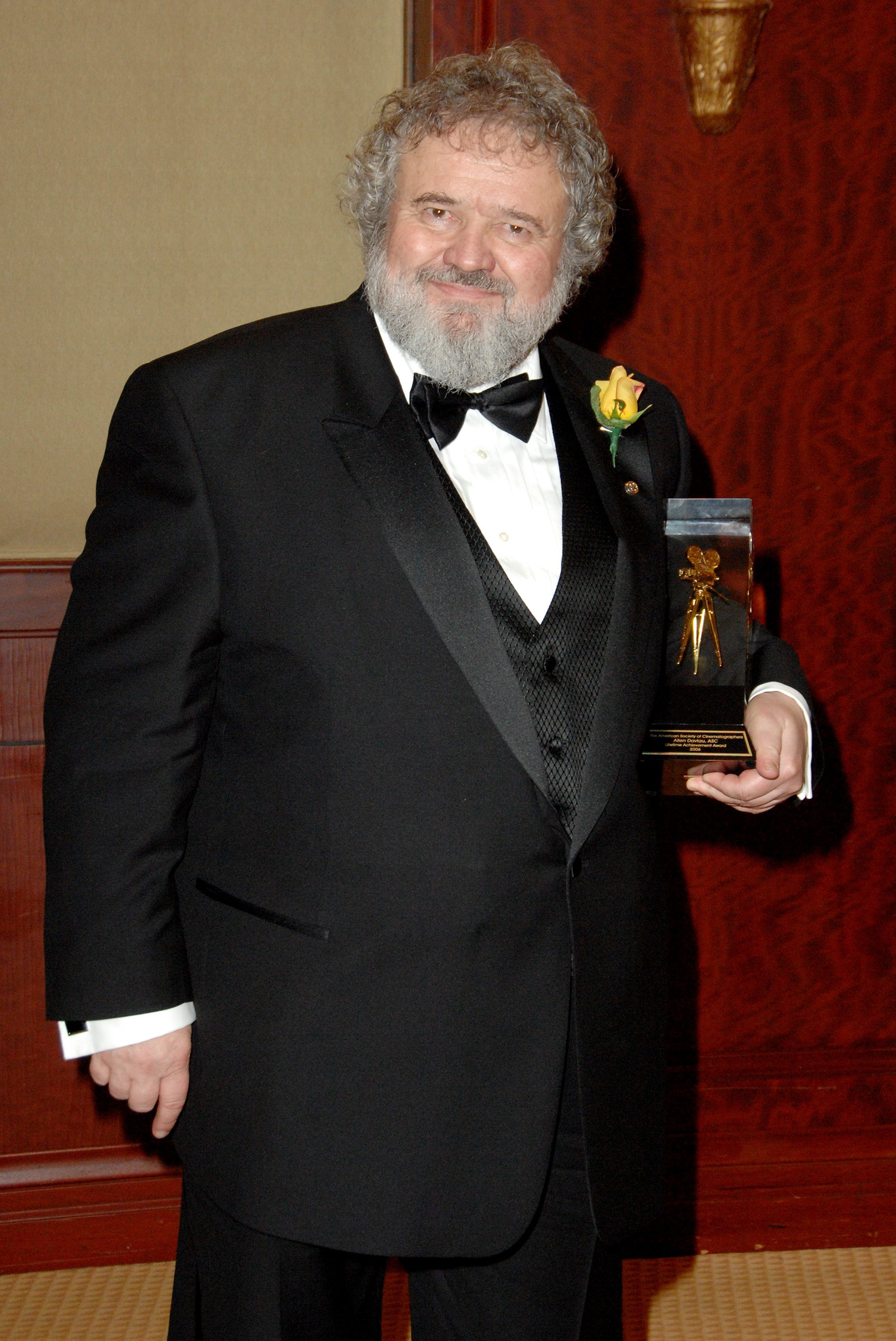 Allen Daviau during 21st Annual American Society Of Cinematographers Awards in February 2007, in Century City, California. | Source: Getty Images.