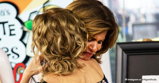 Hoda Kotb Can't Stop Crying after Kathie Lee Gifford Surprised Her with an Unexpected Gift