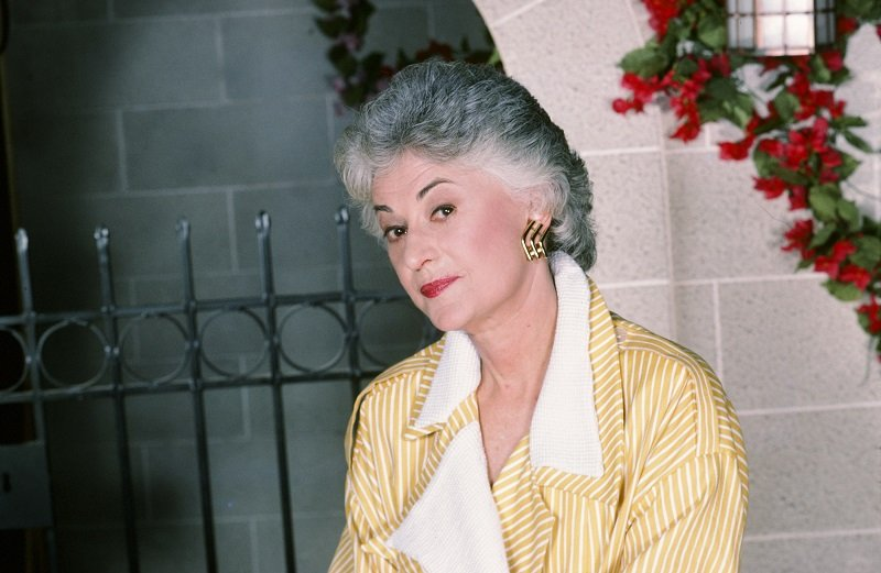 """Bea Arthur as Dorothy Zbornak from """"The Golden Girls"""" circa December 1985 