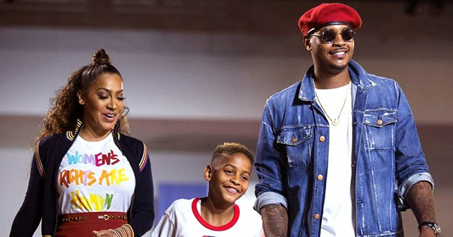 La La Anthony Praises Her Son's Dad Carmelo in Interview & Says He Should Get Father of the Year Award