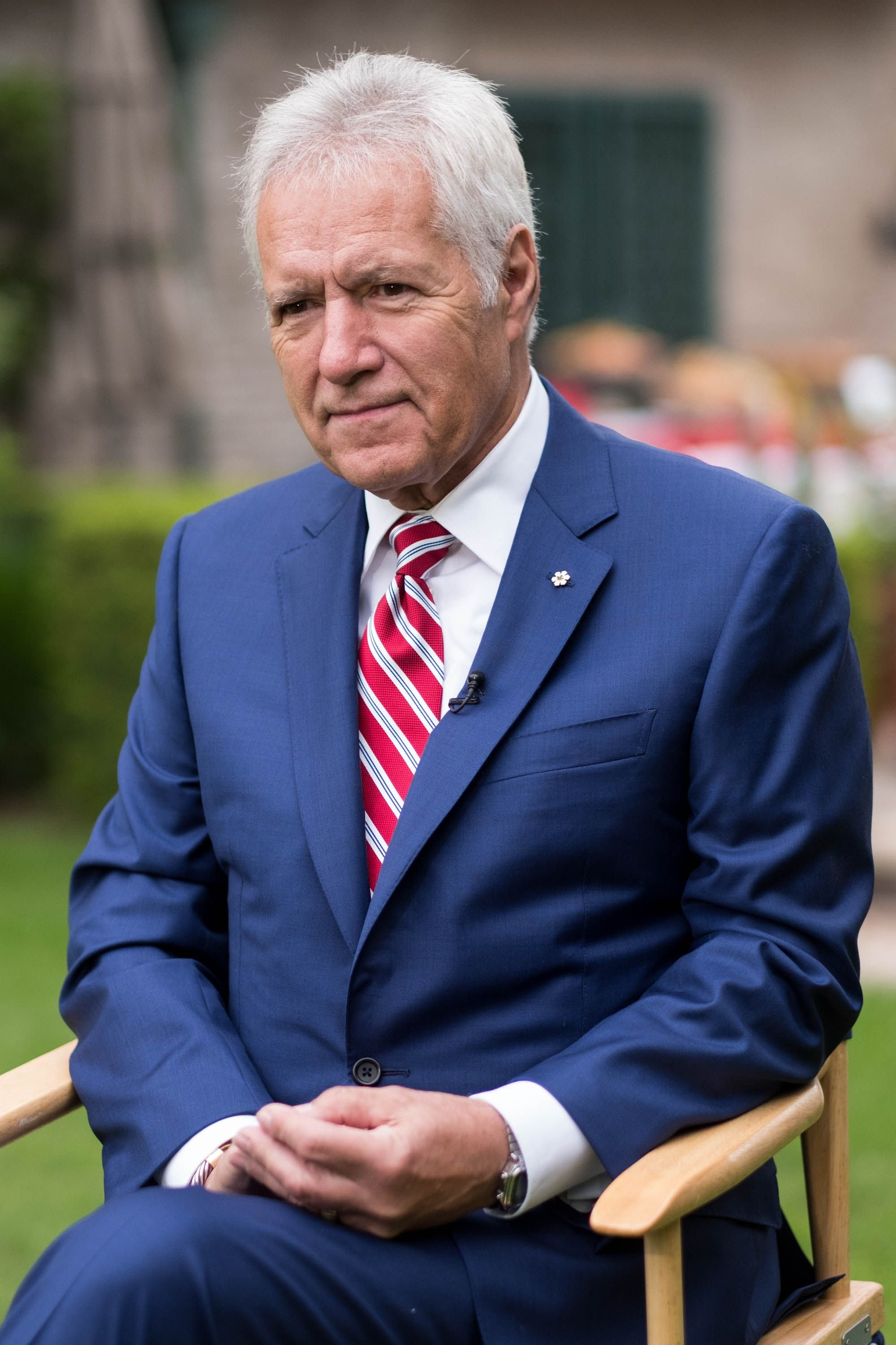 TV personality Alex Trebek at the 150th anniversary of Canada's Confederation at the Official Residence of Canada on June 30, 2017 | Photo: Getty Images