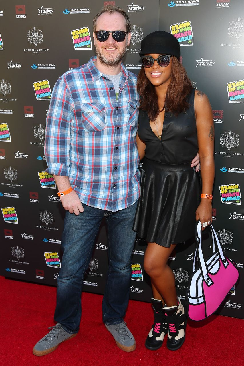 Maximillion Cooper and Eve at the 10th Annual Stand Up For Skateparks Benefitting The Tony Hawk Foundation on October 5, 2013 in Beverly Hills, California. | Source: Getty Images