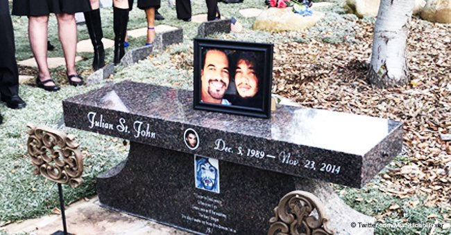 'Young & the Restless' Kristoff St. John Laid to Rest Next to Son, Beloved Dog Attends Funeral