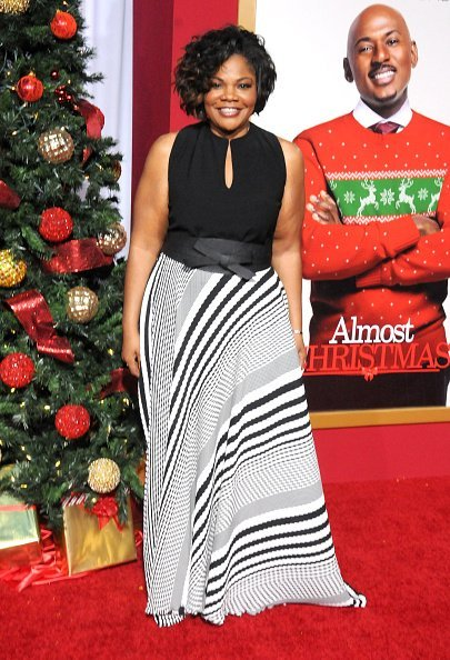 "Actress Mo'Nique at the premiere of ""Almost Christmas"" on November 3, 2016 