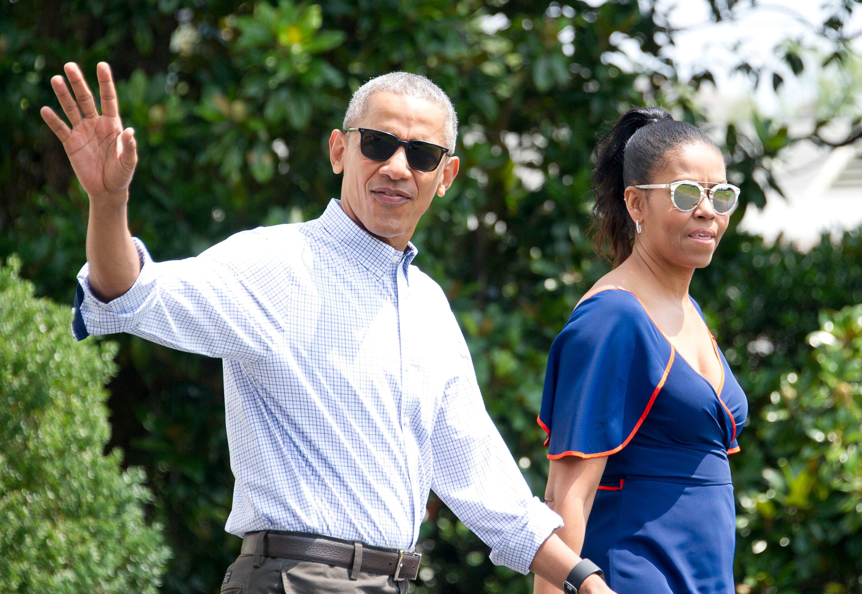 Le couple Obama. l Source : Getty Images