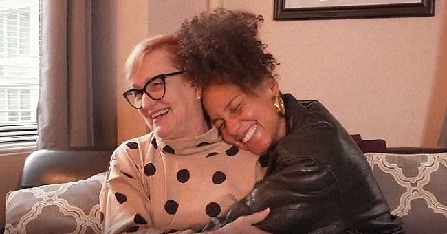 Alicia Keys Shares a Photo & Video with Her Mom on Mother's Day and They Do Not Look Alike