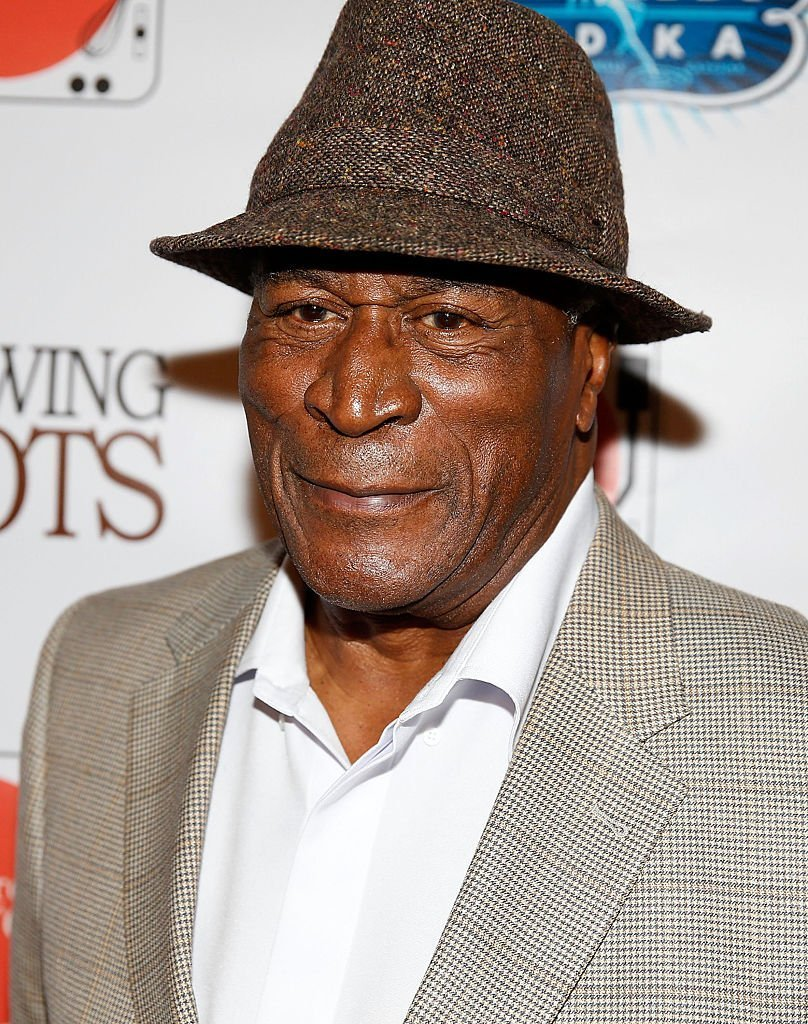 """John Amos at the """"Showing Roots"""" New York screening at the SVA Theatre on May 17, 2016 in New York City. 