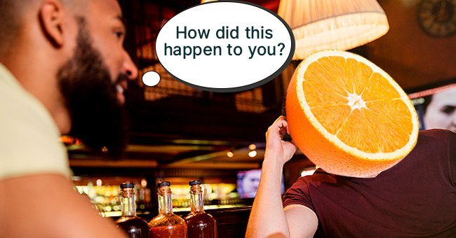 Daily Joke: Man Asks Another Guy Why He Has a Big Orange Head