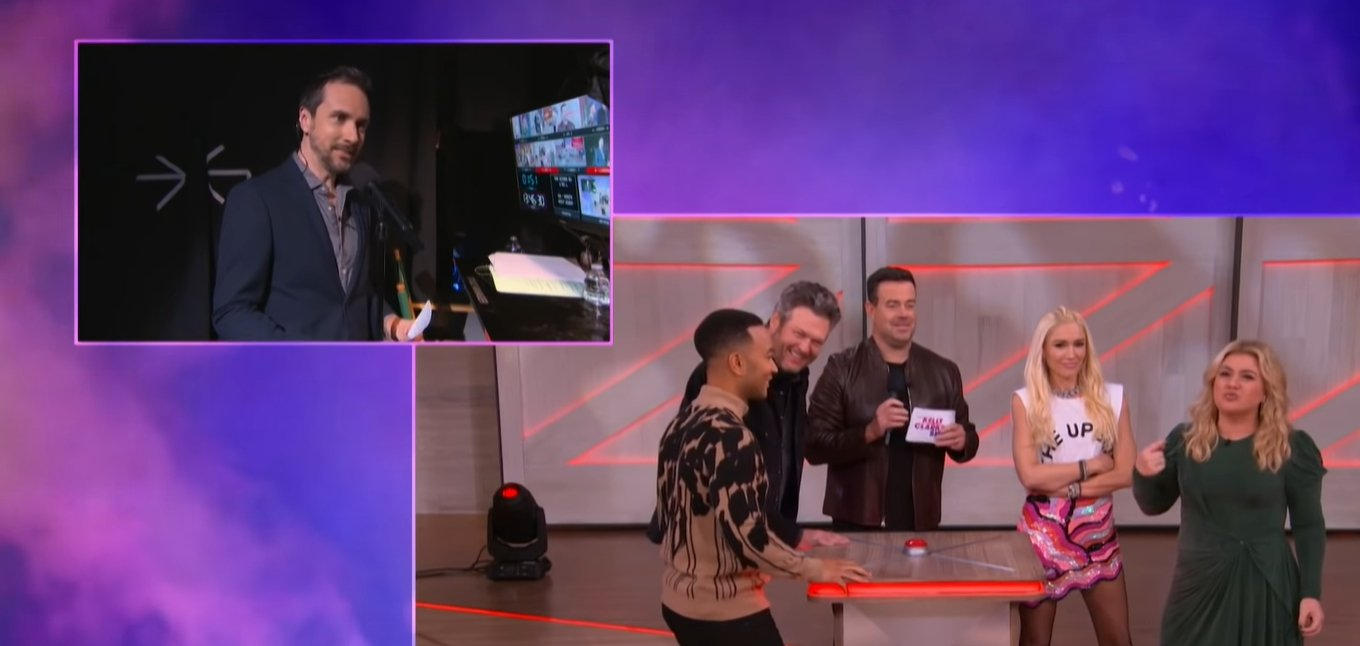 """The Voice"" judges play a game on ""The Kelly Clarkson Show"" 