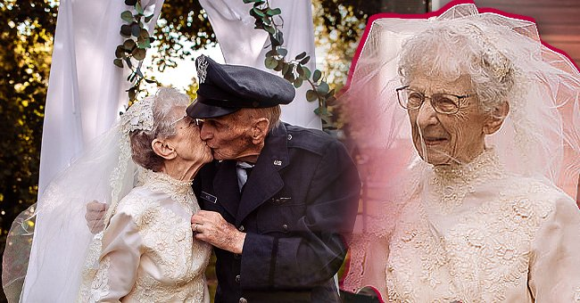 The hospice staff at St. Croix arranged a memorable celebration for King and Royce's 77th wedding anniversary. | Photo: facebook.com/stcroixhospice
